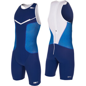 Z3R0D Racer Trisuit Men dark blue/white